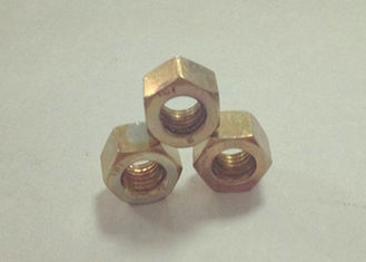 Small Thickening M6x1 Hexagon Nuts , Thin Hex Nuts High Dimensional Accuracy